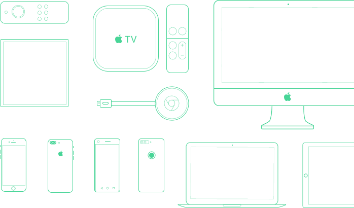 Streamroot P2P CDN is compatible on web, mobile, set-top box, Apple TV, Tizen, Chromecast, Amazon Fire TV, Android, iOS and more.